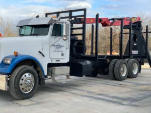 Palfinger Log Truck